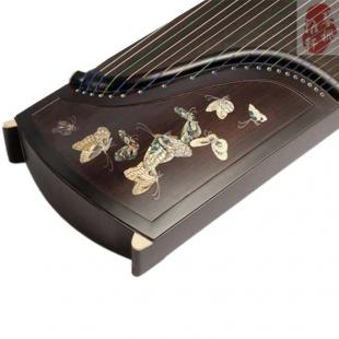 天艺古筝-黑檀专业一级嵌彩贝