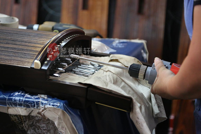 琴枫雅轩,上海寻筝小记 ――访上海民族乐器厂择敦煌古筝