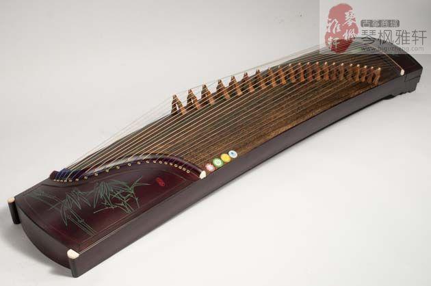 碧泉古筝-普及刻竹