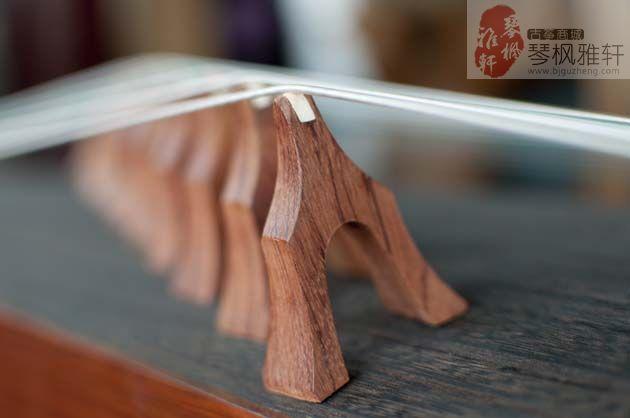 天艺古筝-红木贴雕