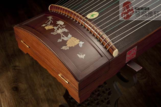 天艺古筝-专业三级嵌螺钿