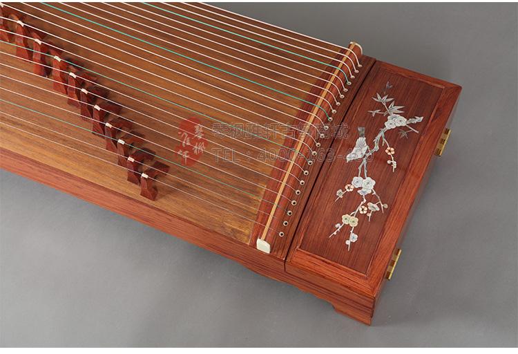 徐国平红木贝雕花鸟