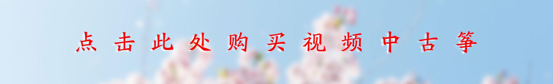 古筝D调筝码安装教程(学筝必会)-敦煌古筝